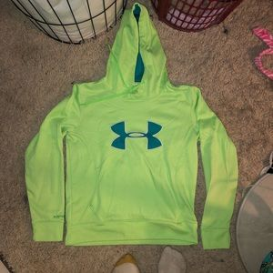 Under Armour Green Hoodie